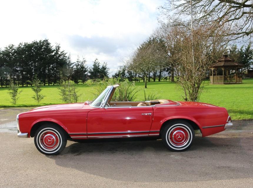 Historics at brooklands specialist classic and sports for 1964 mercedes benz 230sl