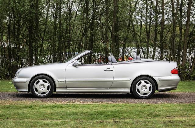 Historics at brooklands specialist classic and sports for 2000 mercedes benz clk 320
