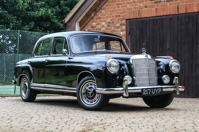 Historics at brooklands specialist classic and sports for Mercedes benz 220 s