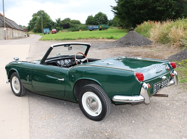 Historics at Brooklands  Specialist Classic and Sports Car Auctioneers  REF 101    1965       Triumph