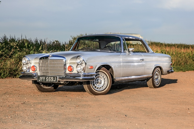 Historics at brooklands specialist classic and sports for 1971 mercedes benz 280se