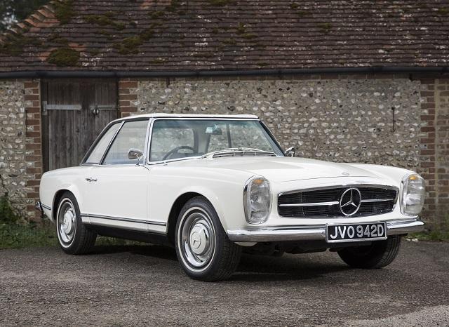 Historics at brooklands specialist classic and sports for 1966 mercedes benz 230sl