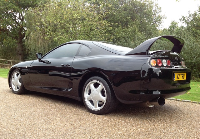 historics at brooklands specialist classic and sports car auctioneers ref 118 1995 toyota supra. Black Bedroom Furniture Sets. Home Design Ideas