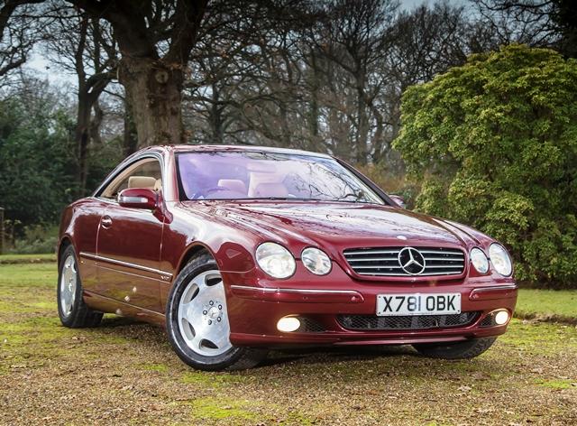 Mercedes Cl 600 : historics at brooklands specialist classic and sports car auctioneers ref 9 2001 mercedes ~ Medecine-chirurgie-esthetiques.com Avis de Voitures