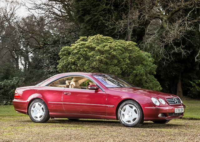 Historics at brooklands specialist classic and sports for 2001 mercedes benz cl600