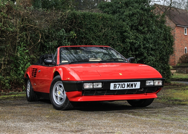 historics at brooklands specialist classic and sports car auctioneers ref 86 1985 ferrari. Black Bedroom Furniture Sets. Home Design Ideas