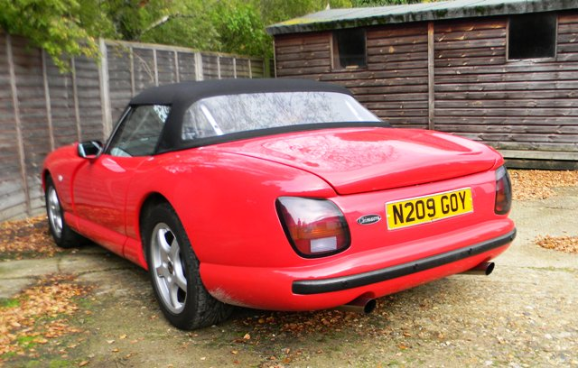 Historics At Brooklands Specialist Classic And Sports Car Auctioneers 1995 Tvr Chimera 4 0