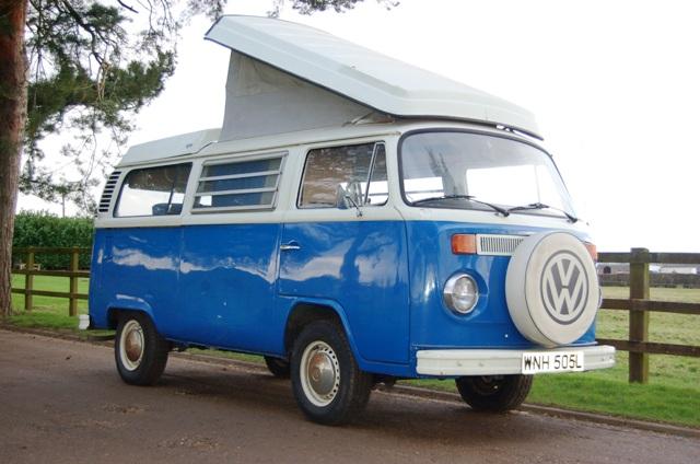 1973 volkswagen t2 westfalia campervan. Black Bedroom Furniture Sets. Home Design Ideas