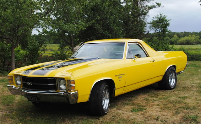 ... Classic and Sports Car Auctioneers - 1971 Chevrolet El Camino SS