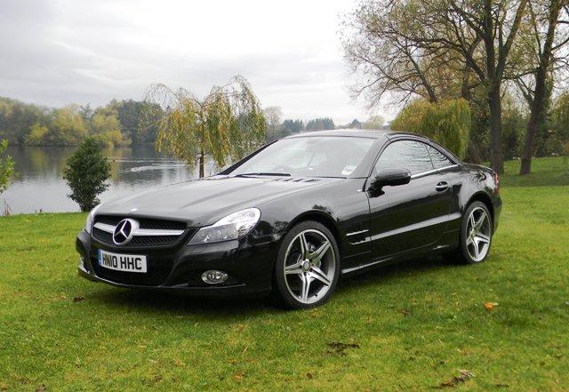 Historics at brooklands specialist classic and sports for Mercedes benz convertible 2010