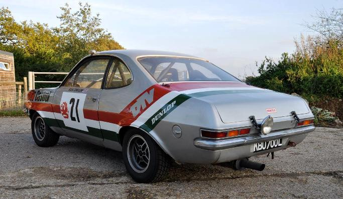 Chevrolet Dealer Uk >> Historics at Brooklands - Specialist Classic and Sports Car Auctioneers - 1973 Vauxhall Firenza ...