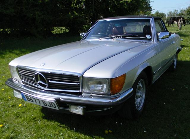 Historics at brooklands specialist classic and sports for 1985 mercedes benz 500sl