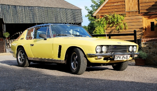 historics at brooklands specialist classic and sports car auctioneers 1973 jensen interceptor sp. Black Bedroom Furniture Sets. Home Design Ideas