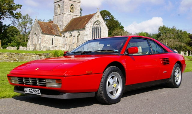 historics at brooklands specialist classic and sports car auctioneers ferrari mondial. Black Bedroom Furniture Sets. Home Design Ideas