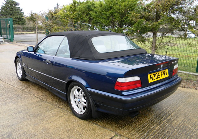 Historics At Brooklands Specialist Classic And Sports Car Auctioneers 1996 Bmw 328i Convertible