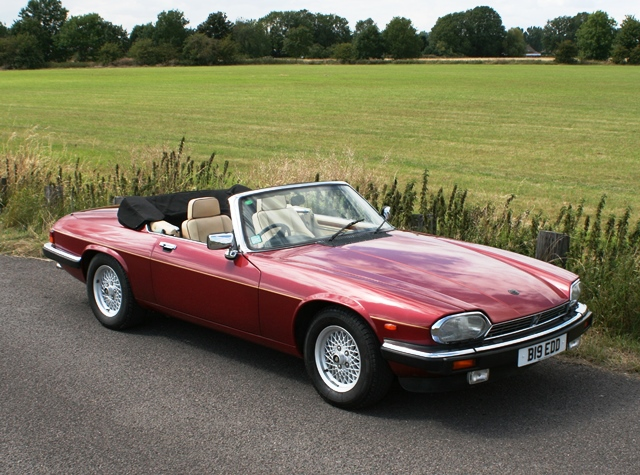 Lot 217   1990 Jaguar XJS Convertible
