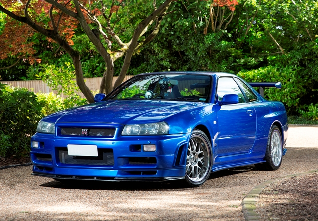 Awesome Lot 261   2000 Nissan Skyline R34 GTR V Spec