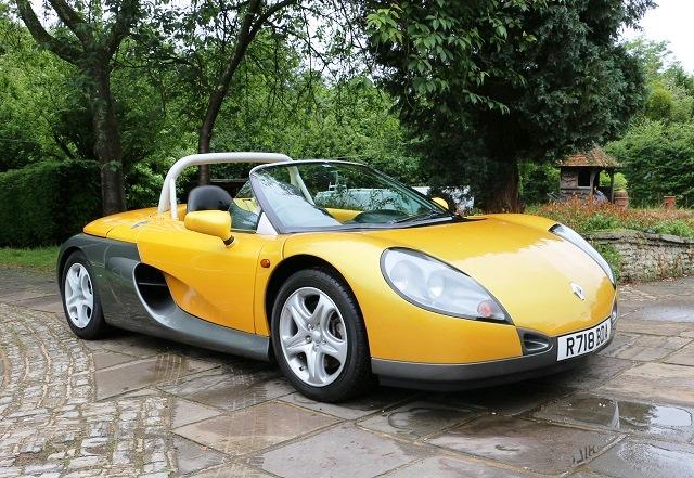 renault sport spider 1997 года