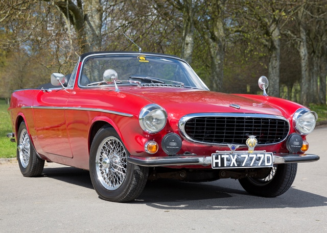 Great Lot 168   1966 Volvo P1800S Convertible