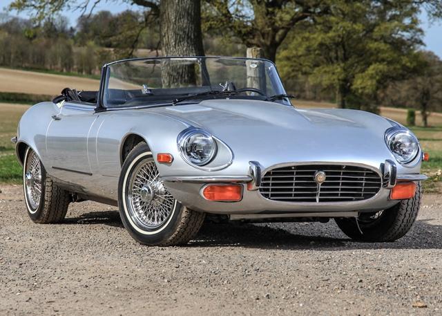 Jaguar e type series 3