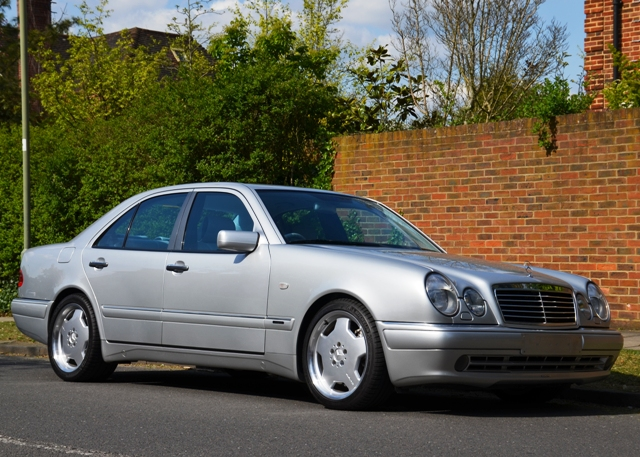 Lot 130   1999 Mercedes Benz E55 AMG