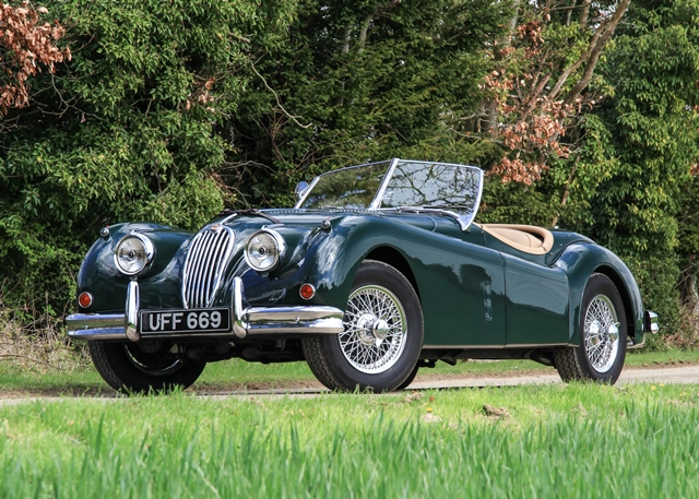 Lot 269   1954 Jaguar XK140 SE Roadster