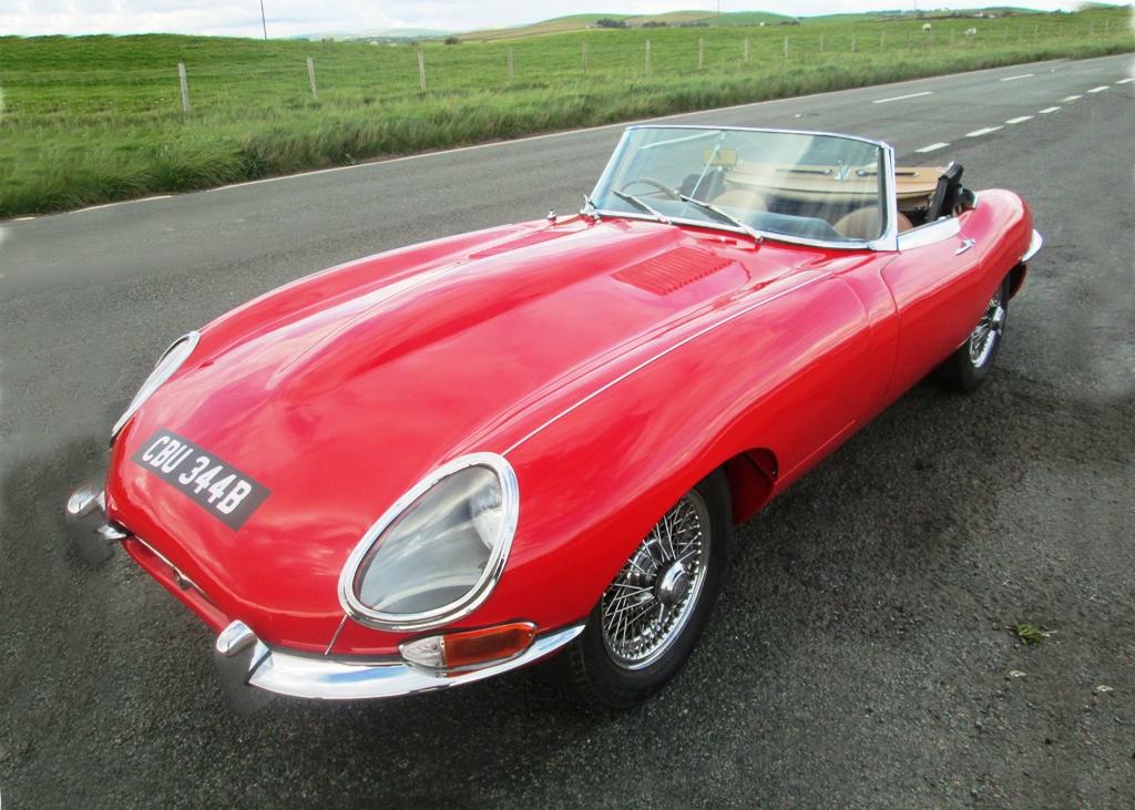 Lot 266   1963 Jaguar E Type Series I Roadster (3.8 Litre)