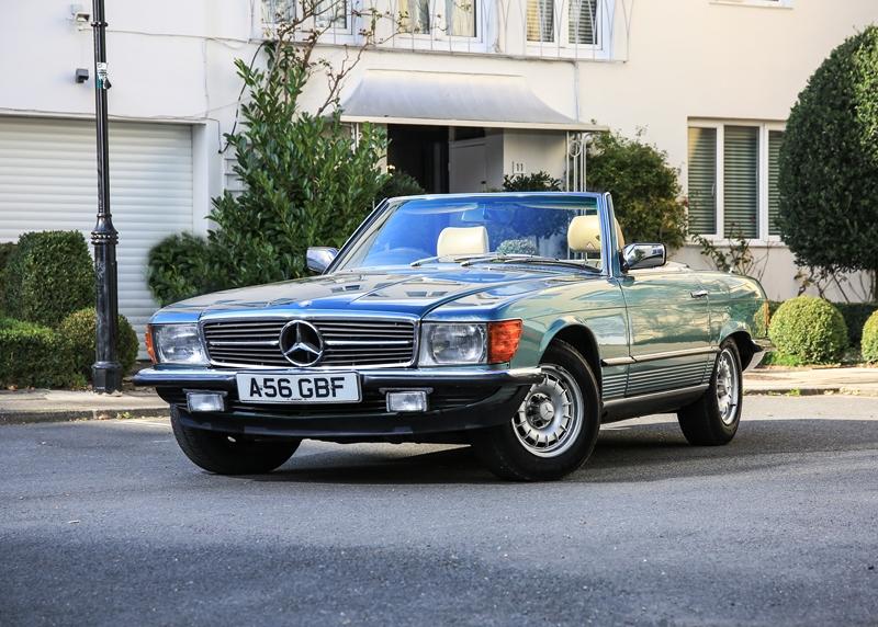 Mercedes sl 1983