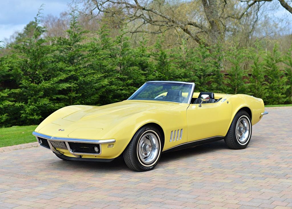 Lot 133   1968 Chevrolet Corvette C3 Roadster