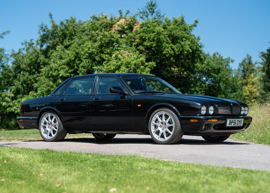 Lot 119   2002 Jaguar XJR 100
