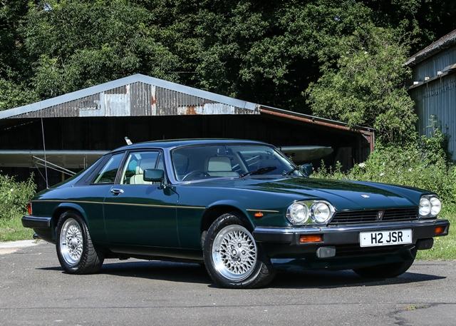 Exceptional Lot 161   1991 Jaguar XJS V12 Le Mans Limited Edition