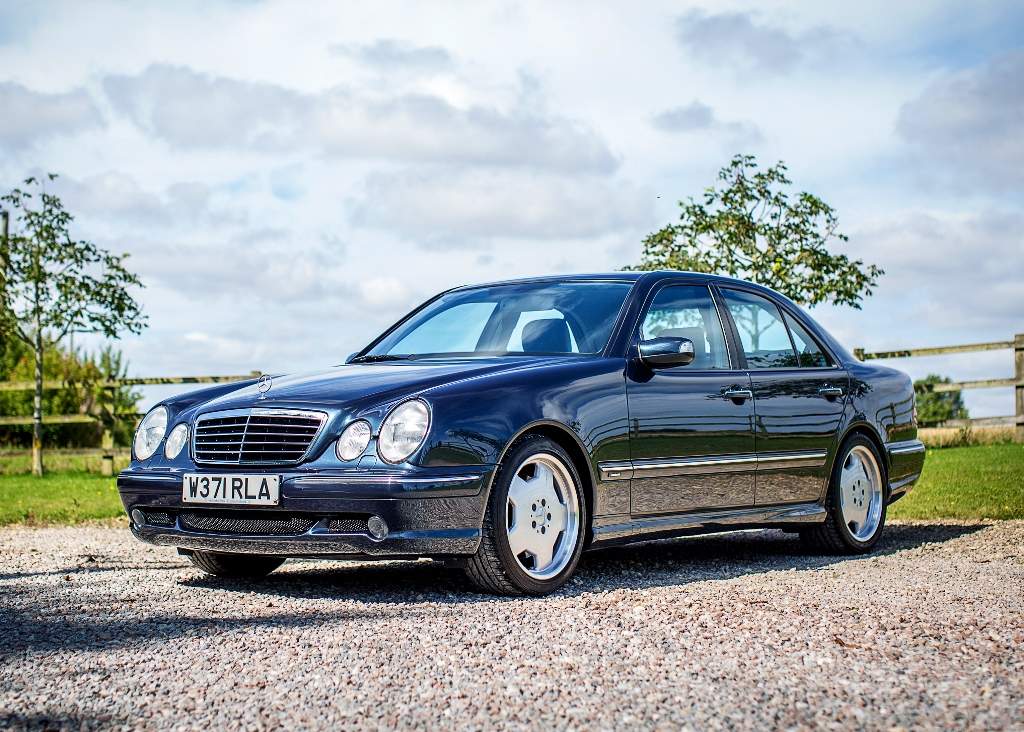 Lot 130   2000 Mercedes Benz E55 AMG