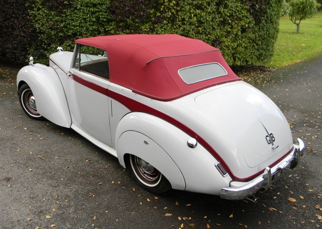 Car Auctioneers 1951 Alvis Ta21 Three Position Drophead By Tickford