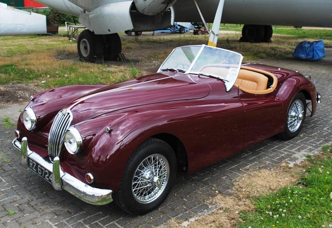 55 jaguar xk140 roadster