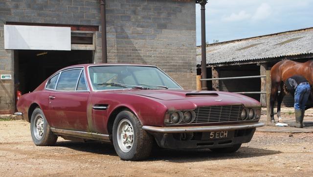 Lot  Dbs V8 Saloon Restoration