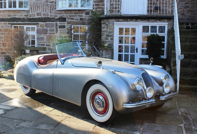 Lot 274   1953 Jaguar XK120 Roadster